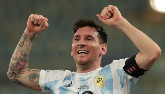 Lionel Messi consiguió la medalla de oro de los Juegos Olímpicos Bejing 2008. (Foto: AFP)