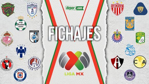Draft Liga MX 2021 EN VIVO: altas, bajas y rumores EN DIRECTO de cara al Clausura MX