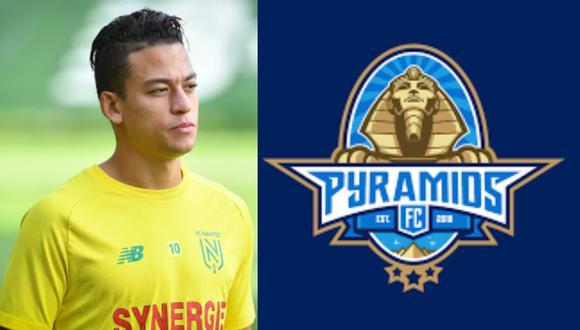 Cristian Benavente no figura en los planes del Nantes y tendrá que regresar al Egipto.