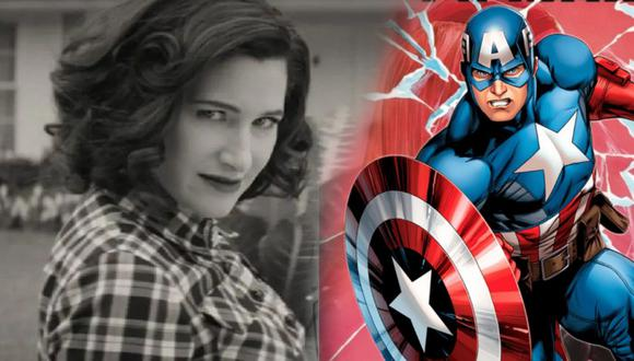 Capitán América y Agatha Harkness de WandaVision trabajan juntos para acabar con Red Skull