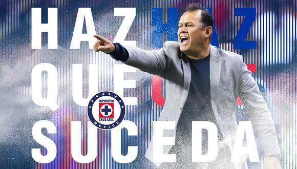 Juan Reynoso tomará las riendas del Cruz Azul por un año. (Redes sociales)