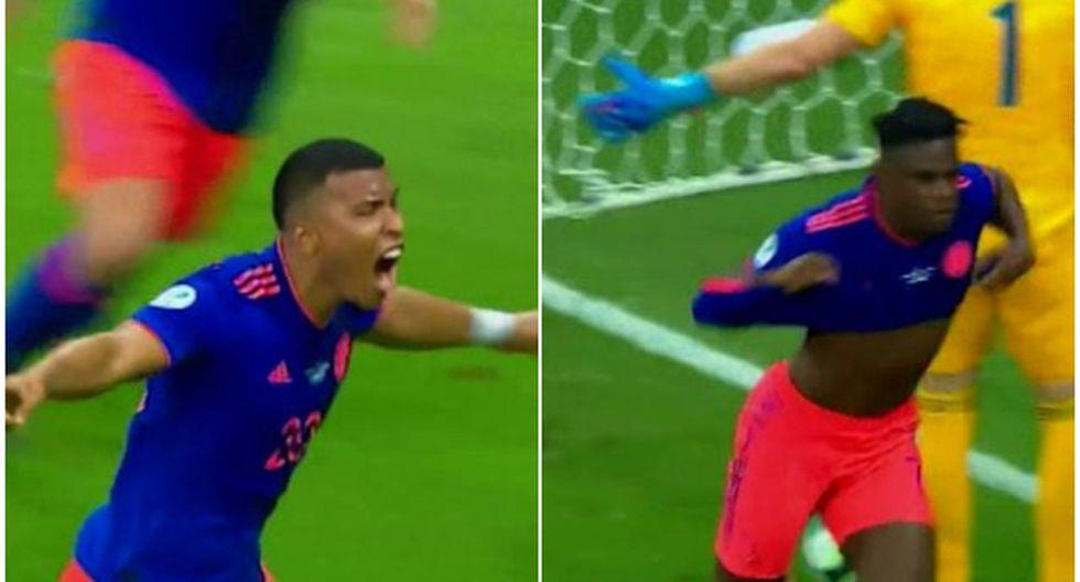 En los momentos precisos: Martínez y Zapata le dieron triunfo en debut de Copa América
