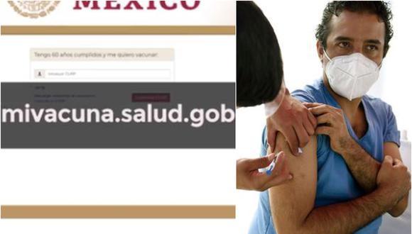 Registro para vacuna COVID en México: ¿Dónde y cuándo vacunarte contra el coronavirus? (Foto: mivacunasalud.gob.mx)