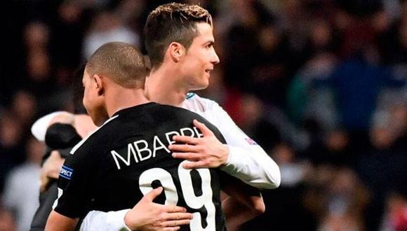 Kylian Mbappé y Cristiano Ronaldo se han enfrentado a nivel de clubes y selecciones. (Foto: AFP)