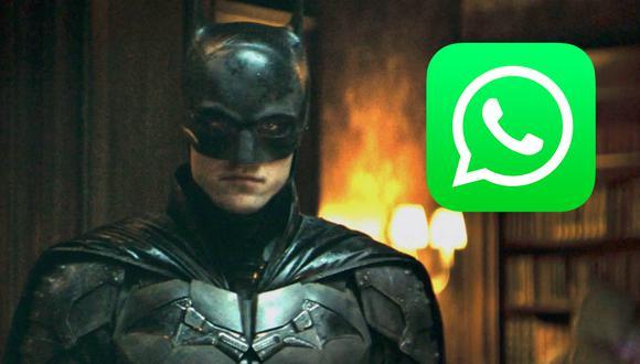 """De esta manera podrás activar el """"modo Batman"""" en el competidor de WhatsApp. (Foto: Warner Bros)"""