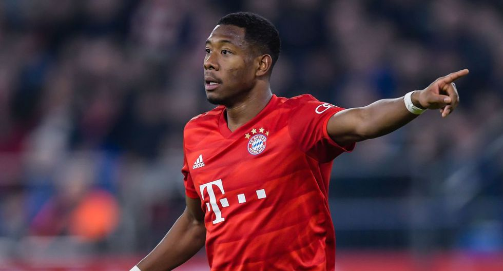 David Alaba. (Getty Images)