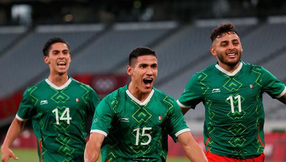 Un comienzo de 'película' para México en los Juegos Olímpicos Tokio 2020 que ilusiona con la medalla de oro tras vencer 4-1 a Francia con goles de Vega, Córdova, Antuna y Aguirre. (Foto: AFP)