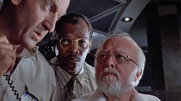 "Samuel L. Jackson in ""Jurassic Park"" the 1993 (Picture: IMDB)"