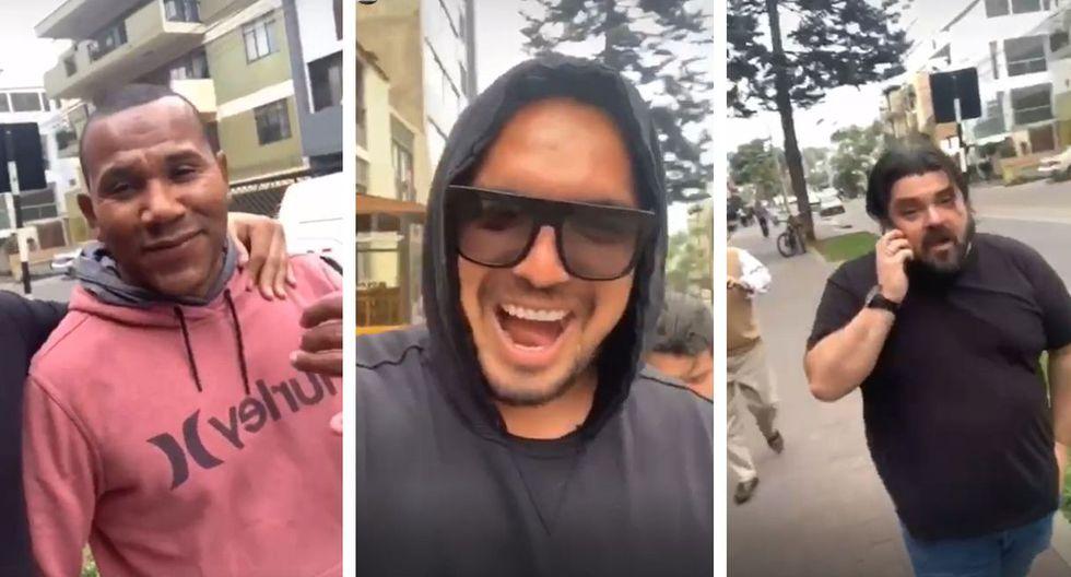 Aquí el divertido momento de Juan Manuel Vargas con Galliquio, exjugador de Universitario. (Video: Instagram)