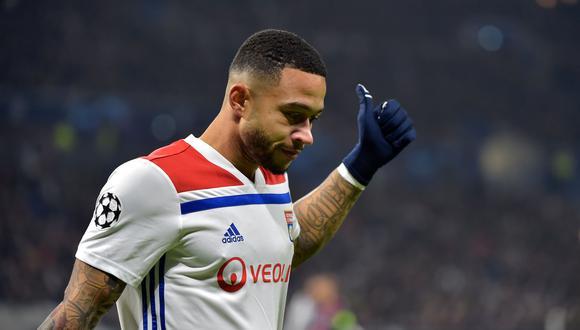 Memphis Depay continuará esta temporada en el Lyon. (Foto: AFP)