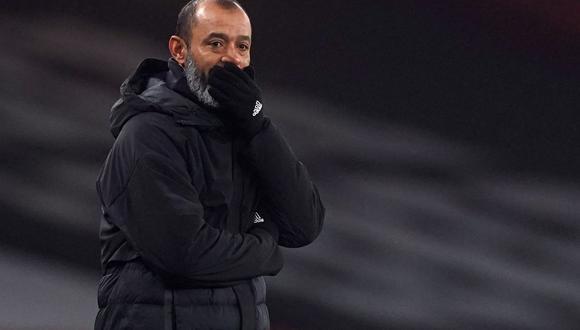 Nuno Espiritu Santo no sabe cuándo podrá volver a contar con Jiménez. (Foto: AFP)