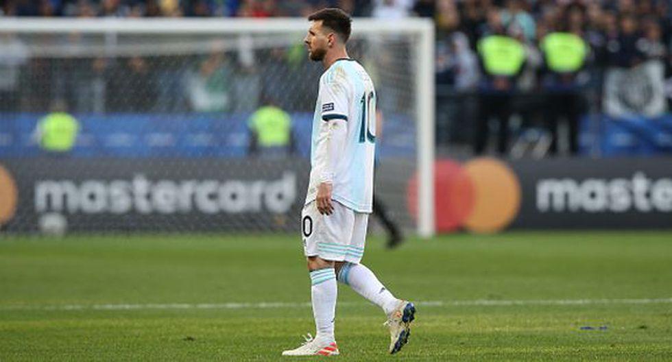Lionel Messi fue expulsado tras encuentro con Gary Medel. (Getty/América)