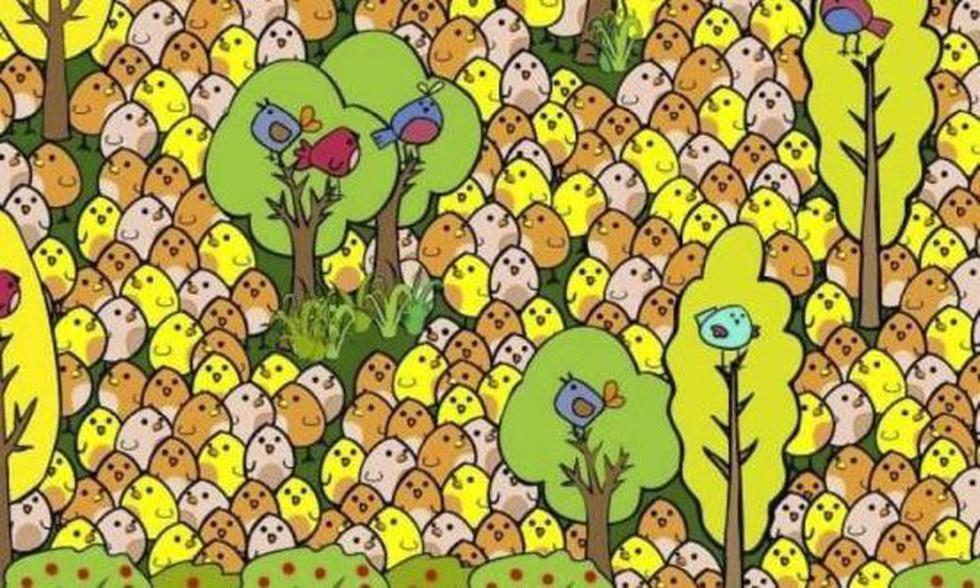 En solo 15 segundos: halla al huevo oculto entre las decenas de pollitos de la imagen de este nuevo reto viral. (Foto: Pinterest)