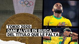 Capitán y figura: Dani Alves lidera la defensa del oro de Brasil en Tokio 2020