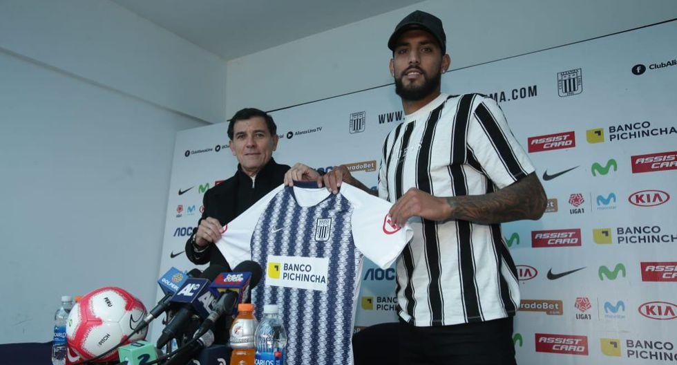 Adrián Balboa en el nuevo '9' de Alianza Lima. (Jesús saucedo/GEC)