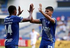 ¡Vengan esos cinco! Emelec goleó en el global 5-0 a Blooming y avanzó a la Fase 2 de Copa Sudamericana 2020