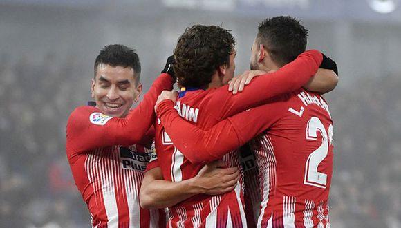 Atlético de Madrid venció 3-0 a Huesca por la jornada 20 de LaLiga Santander. (Foto: Getty)