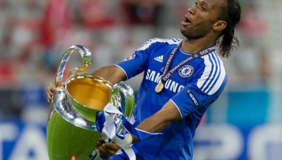 Didier Drogba anotó el empate agónico ante el Bayer Munich, el cual permitió que el Chelsea gane la Champions League 2012 en tanda de penales.