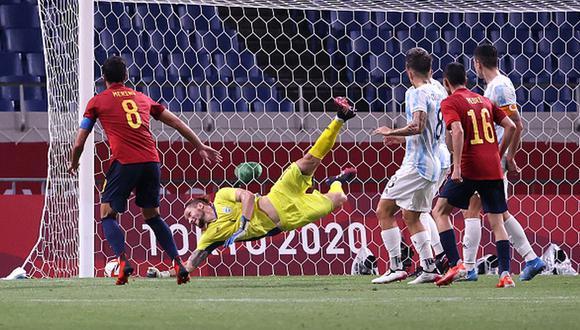 Argentina no pudo ante España en Saitama y se despide prematuramente de Tokio 2020. (Foto: Getty)