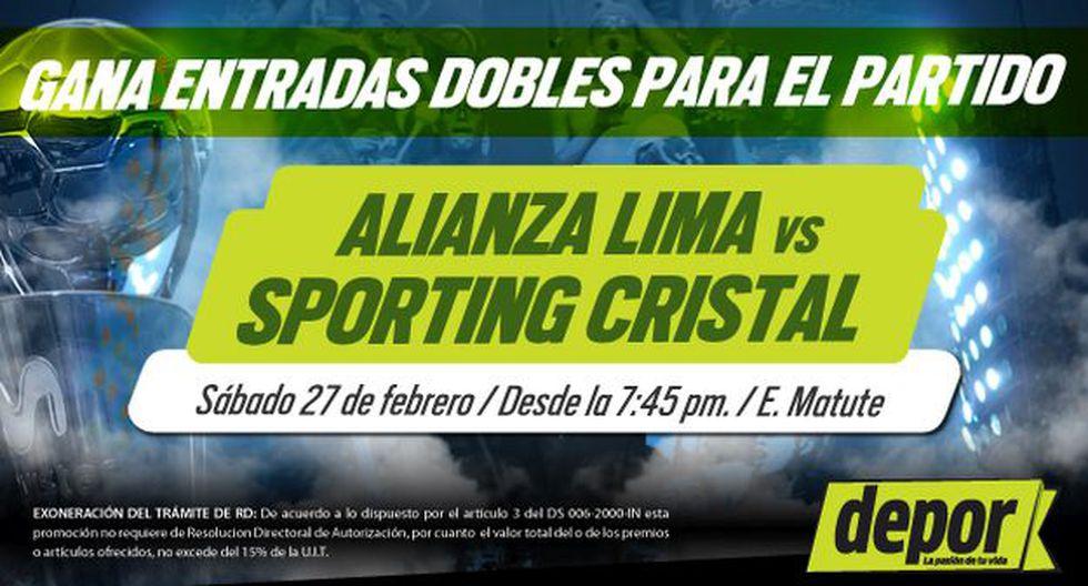 Alianza Lima venció 2-0 a Sporting Cristal en su último partido en Matute. (USI)