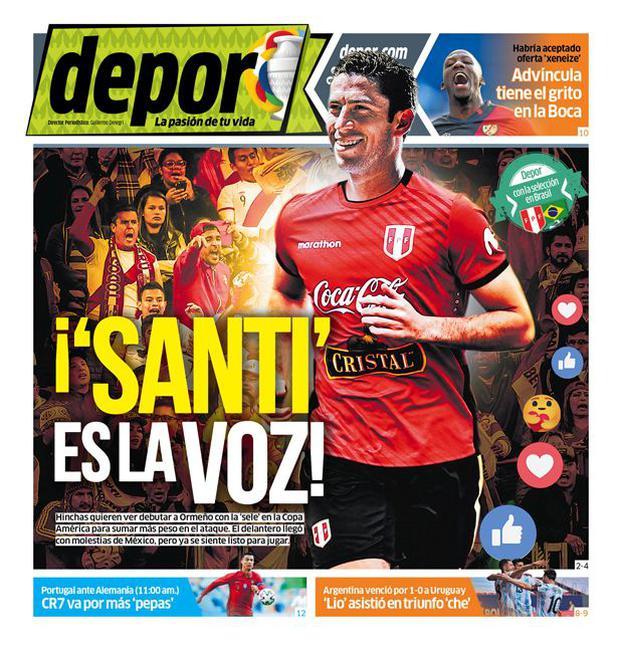 ¡'Santi' es la voz!