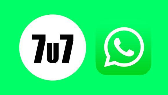 Conoce qué es lo que significa realmente el '7u7' en WhatsApp y cuándo usarlo. (Foto: Depor)
