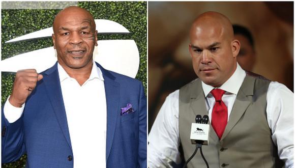 Tyson y Ortiz. (Foto: Getty Images)