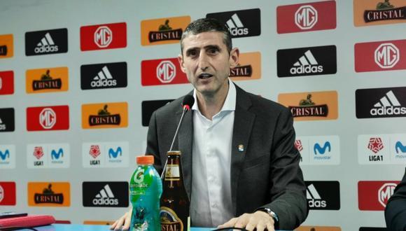Cristal presentó a  Juan José Luque como nuevo Director General de los celestes. (Prensa SC)