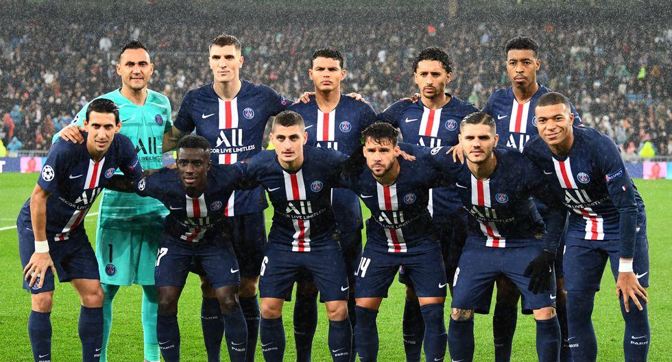 PSG con 29 Jugadores en el plantel cuesta 1102.16 Millones de dólares (Foto: AFP)