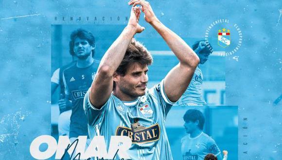 Omar Merlo continuará en Cristal por las próximas dos temporadas. (Foto: Sporting Cristal)