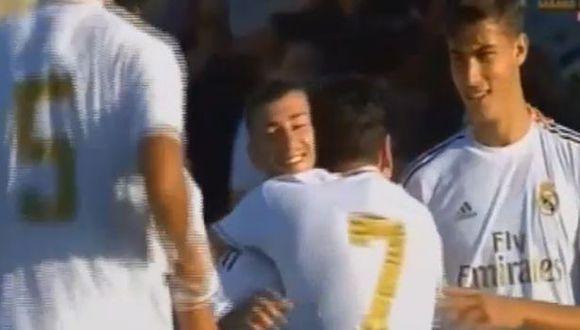 Este fue el golazo que anotó el Real Madrid Castilla. (Video: RMTV)