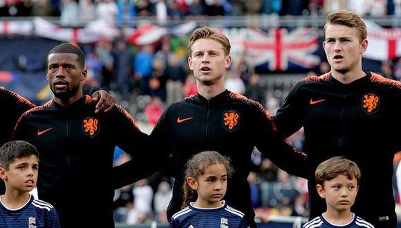 Holanda fue subcampeona de la Nations League. (Getty)