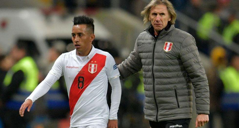Gareca explicó la convocatoria de Cueva a la Selección Peruana. (Foto: Agencias)