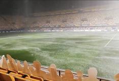 Una lluvia torrencial pone en riesgo el Villarreal vs Maccabi Tel Aviv de la Europa League  [VIDEO]