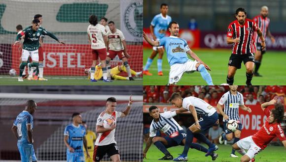 La paupérrima participación de los clubes peruanos durante el último siglo en la Copa Libertadores. (Fotos: Agencias)