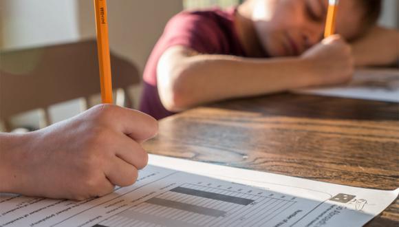 La respuesta del pequeño niño se volvió viral tras publicarse en redes sociales una foto viral de su examen.| Foto: Pexels/Referencial