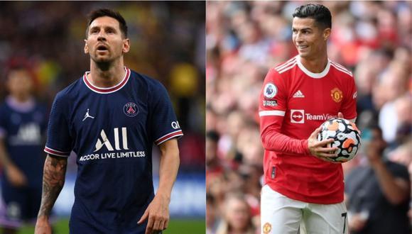 Messi y Cristiano Ronaldo van por una Champions League más.