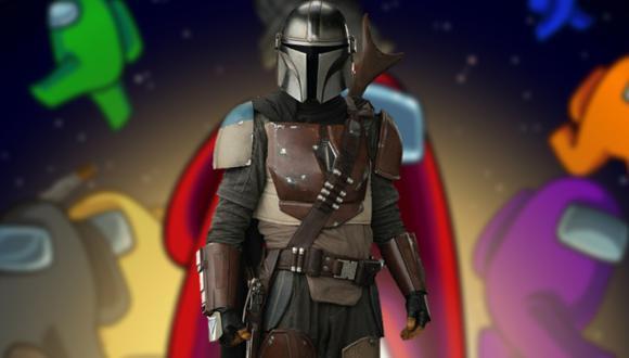 ¡Among Us y The Mandalorian! Así se verían los skins de Star Wars en el juego de InnerSloth