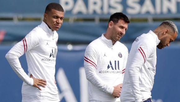La dura crítica de Michael Owen por la presencia de Messi, Neymar y Mbappé en el mismo once. (Foto: EFE)