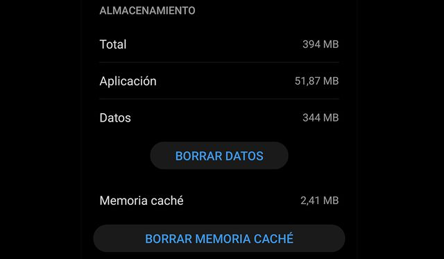 When you delete the WhatsApp cache, you delete some data that causes conflict in the application.  (Photo: WhatsApp)