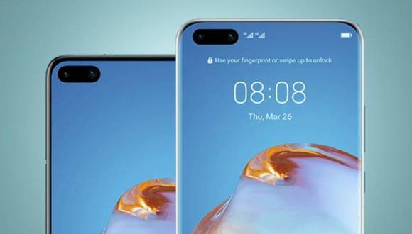 Huawei: filtran especificaciones del P40 Pro y P40
