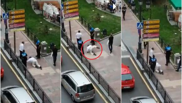 Turistas se 'convirtieron' en perros cuando les exigieron que se coloquen sus mascarillas