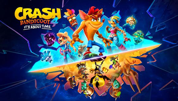 Crash Bandicoot™ 4: It's About Time en PS5. (Difusión)