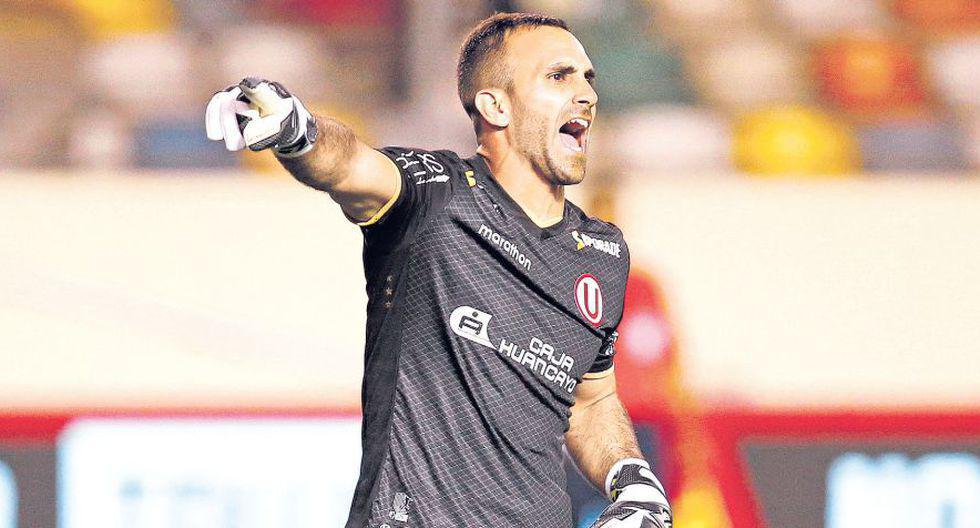 José Carvallo. (Foto: GEC / Liga 1)