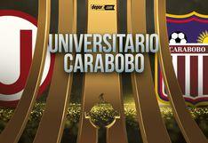 FOX SPORTS | Universitario vs. Carabobo: canales en el mundo para seguir EN DIRECTO el duelo por Copa Libertadores