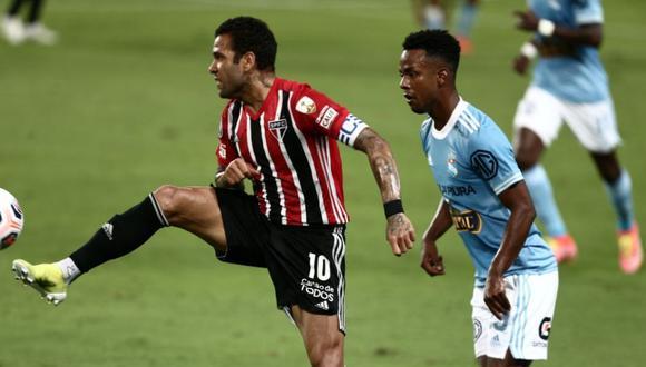 Sporting Cristal vs. Sao Paulo jugaron por la Copa Libertadores (Foto: Jesús Saucedo/GEC)
