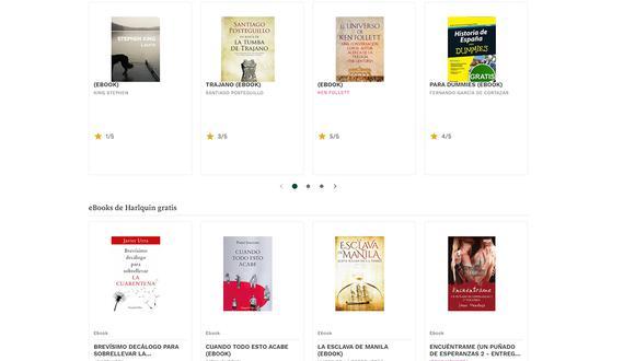 ¿Quieres leer libros gratis? Conoce estas webs desde donde puedes descargarlos sin pago alguno. (Foto: Casa del Libro)