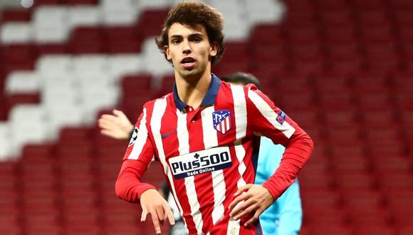 Joao Felix llegó al Atlético de Madrid por 126 millones de euros procedente del Benfica. (Foto: AFP)