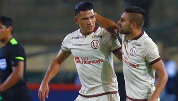 Urruti habló sobre el gol que 'le robó' Dos Santos en Universitario. (Foto: GEC)