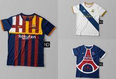 Otra cosa: así se verían las camisetas de estos clubes si se basaran solo en sus escudos [FOTOS]